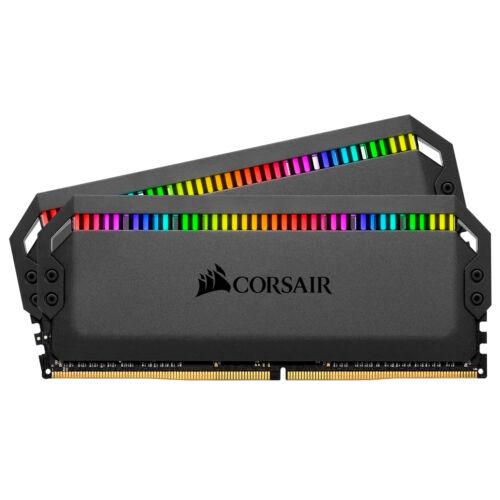 Corsair Dominator Platinum RGB - 16 GB - 2 x 8 GB - DDR4 - 3600 MHz - 288-pin DIMM (CMT16GX4M2C3600C18)