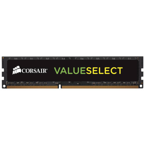 Corsair 4GB (1x 4GB) 1600MHz DDR3L - 4 GB - 1 x 4 GB - DDR3L - 1600 MHz - 240-pin DIMM - Black (CMV4GX3M1C1600C11)