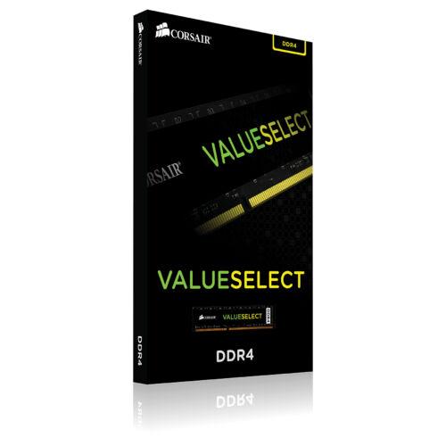 Corsair ValueSelect 4GB - DDR4 - 2400MHz - 4 GB - 1 x 4 GB - DDR4 - 2400 MHz - 288-pin DIMM - Black (CMV4GX4M1A2400C16)