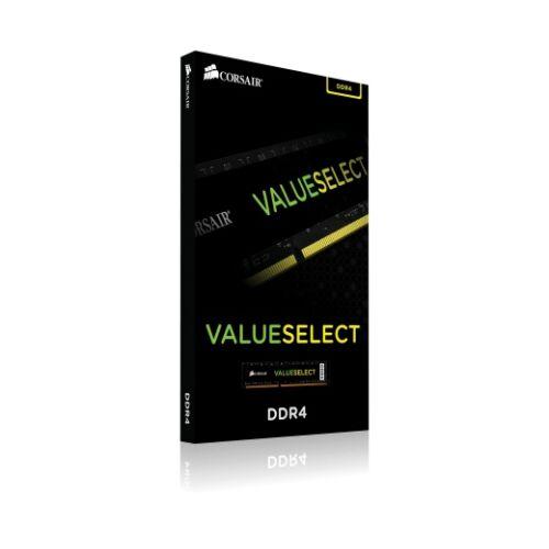 Corsair ValueSelect 8 GB - DDR4 - 2666 MHz - 8 GB - 1 x 8 GB - DDR4 - 2666 MHz - 288-pin DIMM - Black (CMV8GX4M1A2666C18)