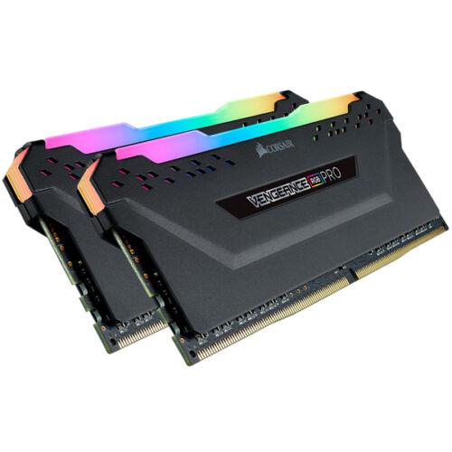 Corsair Vengeance CMW16GX4M2C3200C16 - 16 GB - 2 x 8 GB - DDR4 - 3200 MHz - 288-pin DIMM - Black (CMW16GX4M2C3200C16)