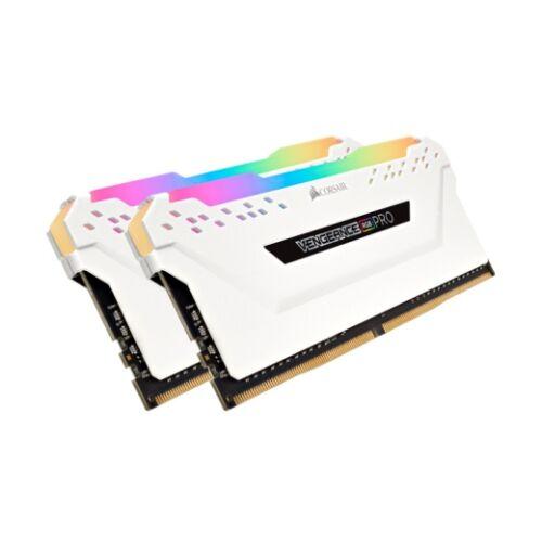 Corsair Vengeance CMW16GX4M2C3600C18W - 16 GB - 2 x 8 GB - DDR4 - 3600 MHz - 288-pin DIMM - White (CMW16GX4M2C3600C18W)