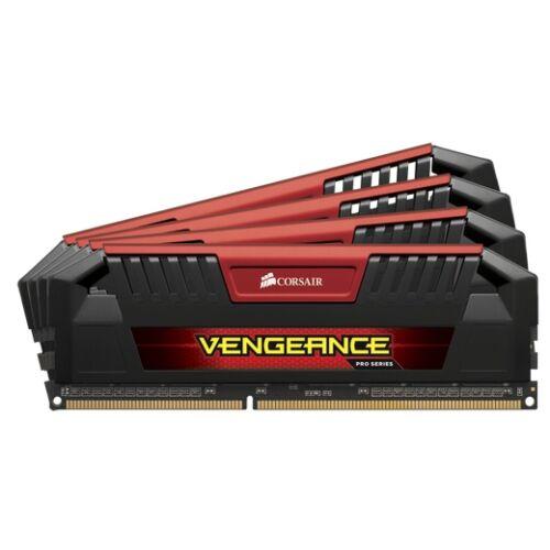 Corsair 32GB DDR3-1600MHz Vengeance Pro - 32 GB - 4 x 8 GB - DDR3 - 1600 MHz - 240-pin DIMM (CMY32GX3M4A1600C9R)