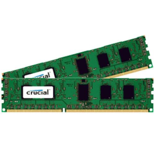 Crucial CT2K51264BD160B memóriamodul 8 GB 2 x 4 GB DDR3 1600 Mhz (CT2K51264BD160B)