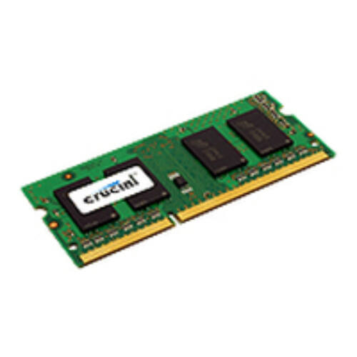Crucial 4GB - 4 GB - 1 x 4 GB - DDR3 - 1600 MHz - 204-pin SO-DIMM (CT51264BF160B)