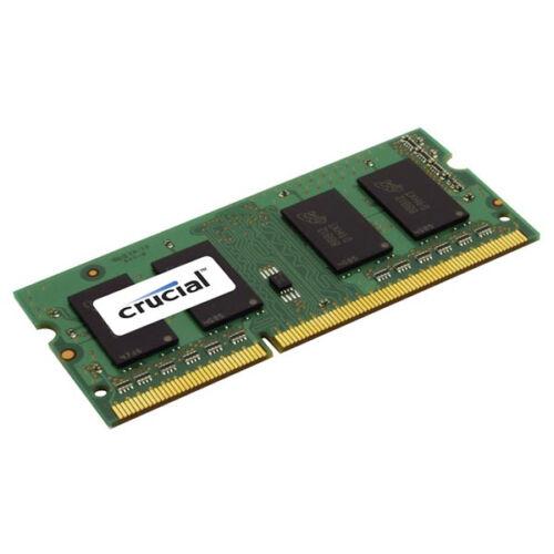 Crucial 8GB DDR3-1600 SO-DIMM CL11 - 8 GB - 1 x 8 GB - DDR3 - 1600 MHz - 204-pin SO-DIMM (CT8G3S160BMCEU)