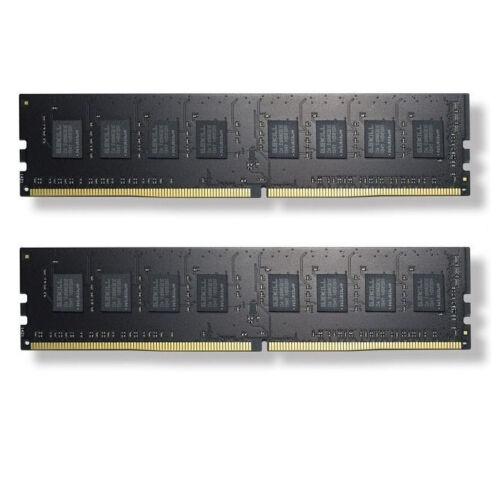G.Skill 8GB DDR4 - 8 GB - 2 x 4 GB - DDR4 - 2133 MHz - 288-pin DIMM - Black (F4-2133C15D-8GNT)