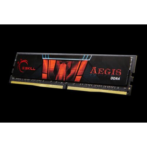 G.Skill Aegis - 16 GB - 2 x 8 GB - DDR4 - 2400 MHz - 288-pin DIMM (F4-2400C17D-16GIS)