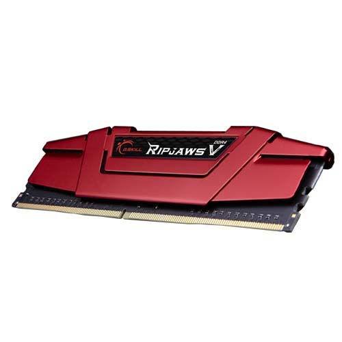 G.Skill Ripjaws V 64GB DDR4-2666Mhz - 64 GB - 4 x 16 GB - DDR4 - 2666 MHz - 288-pin DIMM - Red (F4-2666C15Q-64GVR)