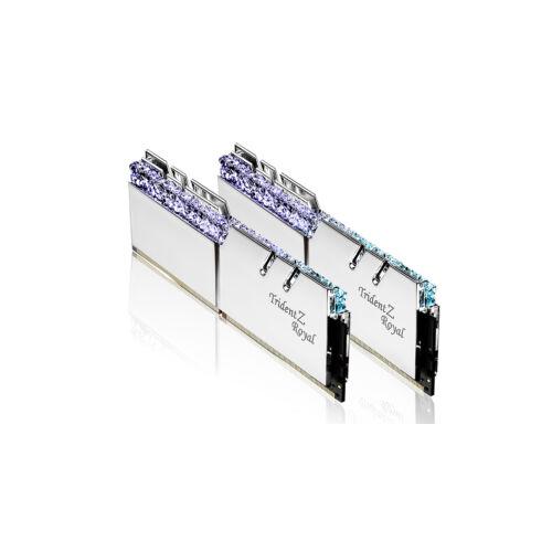G.Skill Trident Z Royal F4-2666C19D-64GTRS memóriamodul 64 GB 2 x 32 GB DDR4 2666 Mhz (F4-2666C19D-64GTRS)