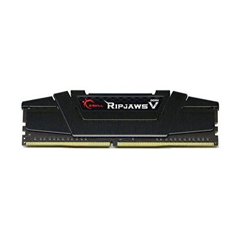 G.Skill Ripjaws V 64GB DDR4-2800Mhz - 64 GB - 4 x 16 GB - DDR4 - 2800 MHz - 288-pin DIMM - Black (F4-2800C14Q-64GVK)