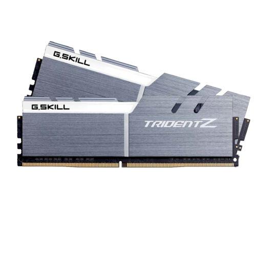 G.Skill 16GB DDR4-3200 - 16 GB - 2 x 8 GB - DDR4 - 3333 MHz - 288-pin DIMM - Gold, Silver, White (F4-3200C14D-16GTZSW)