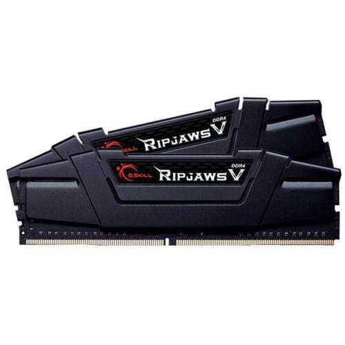 G.Skill 16GB DDR4-3200 - 16 GB - 2 x 8 GB - DDR4 - 3200 MHz - 288-pin DIMM - Black (F4-3200C14D-16GVK)