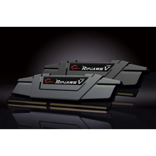 G.Skill Ripjaws V - 16 GB - 2 x 8 GB - DDR4 - 3200 MHz - 288-pin DIMM - Black (F4-3200C16D-16GVGB)