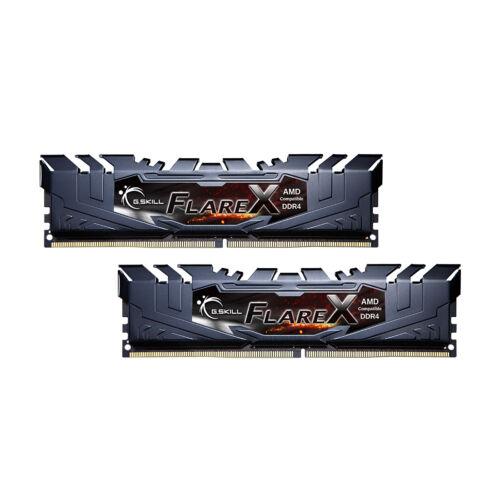 G.Skill Flare X (for AMD) F4-3200C16D-32GFX - 32 GB - 2 x 16 GB - DDR4 - 3200 MHz - 288-pin DIMM (F4-3200C16D-32GFX)