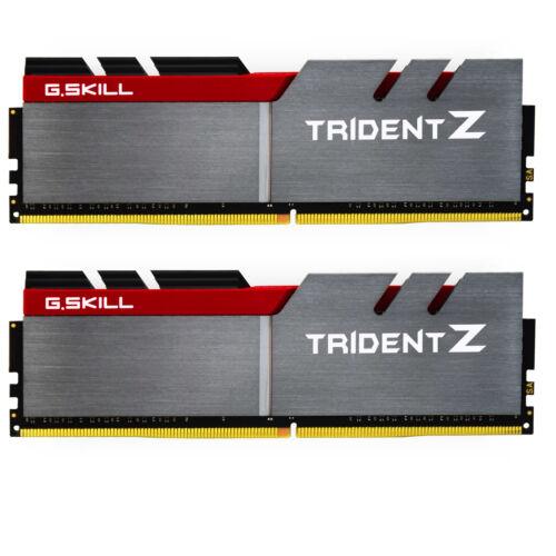 G.Skill 8GB DDR4 - 8 GB - 2 x 4 GB - DDR4 - 3200 MHz - Grey - Black - Red (F4-3200C16D-8GTZB)