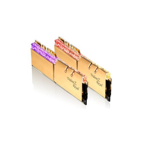 G.Skill Trident Z Royal F4-3600C14D-32GTRG memóriamodul 32 GB 2 x 16 GB DDR4 3600 Mhz (F4-3600C14D-32GTRG)