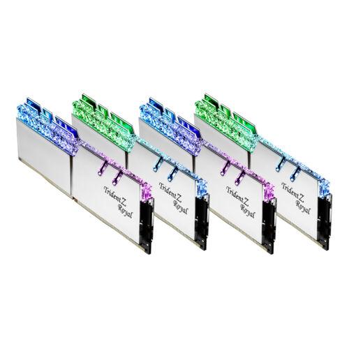 G.Skill Trident Z Royal F4-3600C14Q-64GTRS memóriamodul 64 GB 4 x 16 GB DDR4 3600 Mhz (F4-3600C14Q-64GTRS)