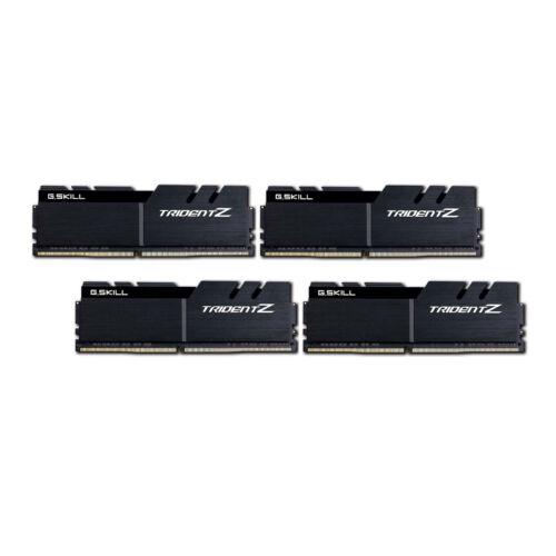 G.Skill 32GB DDR4-3733 - 32 GB - 4 x 8 GB - DDR4 - 3733 MHz - 288-pin DIMM - Black (F4-3733C17Q-32GTZKK)