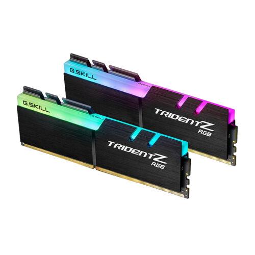 G.Skill Trident Z RGB 16GB DDR4 - 16 GB - 2 x 8 GB - DDR4 - 4000 MHz - 288-pin DIMM - Black (F4-4000C18D-16GTZR)