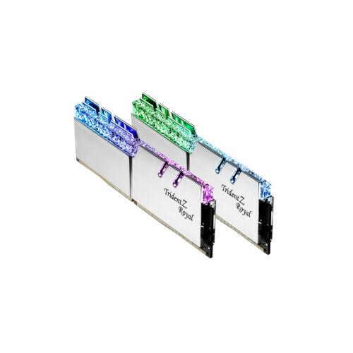G.Skill Trident Z Royal F4-4600C19D-16GTRSE memóriamodul 16 GB 2 x 8 GB DDR4 4600 Mhz (F4-4600C19D-16GTRSE)