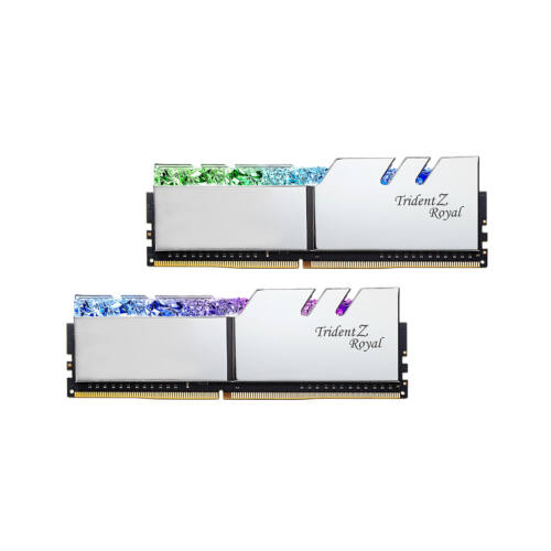 G.Skill Trident Z Royal F4-4800C19D-16GTRSC memóriamodul 16 GB 2 x 8 GB DDR4 4800 Mhz (F4-4800C19D-16GTRSC)