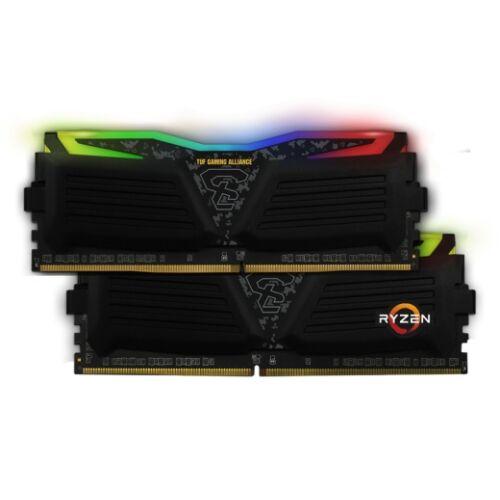 DDR4 16GB 2400MHz GeIL Super Luce TUF AMD Edition RGB Sync CL16 KIT2 (GALTS416GB2400C16DC)