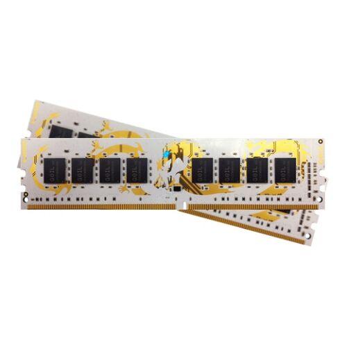 DDR4 8GB 2400MHz GeIL White Dragon AMD Edition CL16 KIT2 (GAWB48GB2400C16DC)