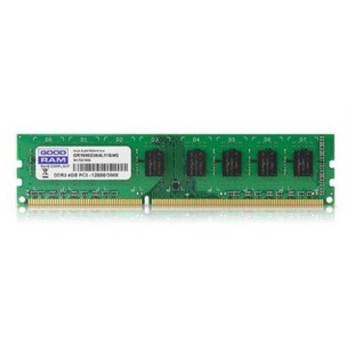 GoodRam 4GB DDR3 1600MHz - 4 GB - 1 x 4 GB - DDR3 - 1600 MHz - 240-pin DIMM (GR1600D364L11S/4G)