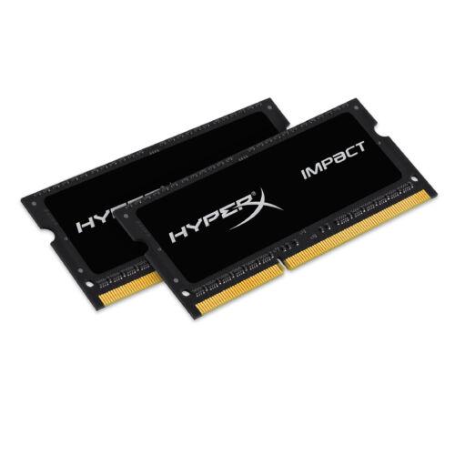 Kingston HyperX HyperX 8GB DDR3-1600 - 8 GB - 2 x 4 GB - DDR3 - 1600 MHz - 204-pin SO-DIMM - Black (HX316LS9IBK2/8)