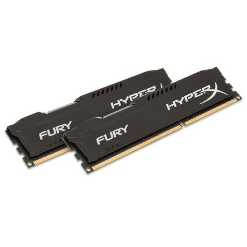 Kingston HyperX FURY Black 8GB 1866MHz DDR3 - 8 GB - 2 x 4 GB - DDR3 - 1866 MHz - 240-pin DIMM - Black (HX318C10FBK2/8)