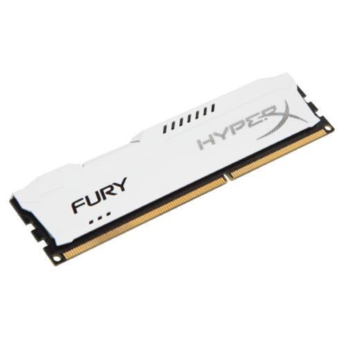 Kingston HyperX HyperX FURY White 4GB 1866MHz DDR3 - 4 GB - 1 x 4 GB - DDR3 - 1866 MHz - 240-pin DIMM - White (HX318C10FW/4)