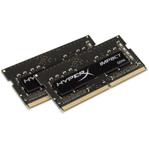 SO-DIMM DDR4 8GB 2400MHz Kingston HyperX Impact Black CL14 KIT2 (HX424S14IBK2/8)