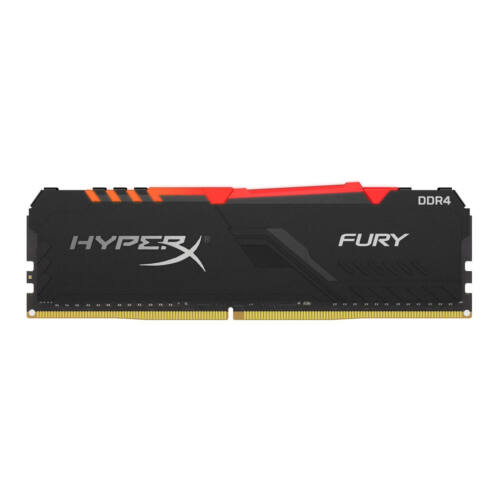 KINGSTON Memória HYPERX DDR4 16GB 3200MHz CL16 DIMM Fury RGB (HX432C16FB3A/16)
