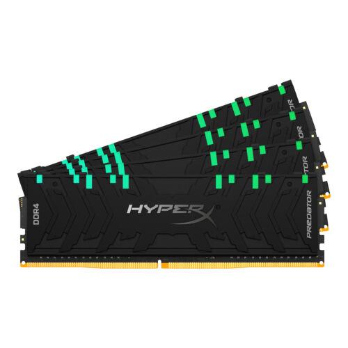 HyperX Predator HX436C18PB3AK4/128 memóriamodul 128 GB 4 x 32 GB DDR4 3600 Mhz (HX436C18PB3AK4/128)