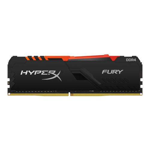 Kingston HyperX FURY HX437C19FB3A/8 - 8 GB - 1 x 8 GB - DDR4 - 3733 MHz - 288-pin DIMM (HX437C19FB3A/8)