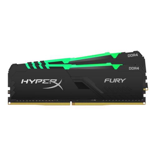 Kingston HyperX FURY HX437C19FB3AK2/32 - 32 GB - 2 x 16 GB - DDR4 - 3733 MHz - 288-pin DIMM (HX437C19FB3AK2/32)