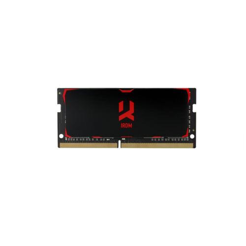 Goodram IR-2666S464L16S/8G memóriamodul 8 GB 1 x 8 GB DDR4 2666 Mhz (IR-2666S464L16S/8G)