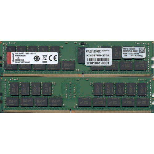 Kingston KSM26RD4/32MEI - 32 GB - 1 x 32 GB - DDR4 - 2666 MHz - 288-pin DIMM (KSM26RD4/32MEI)