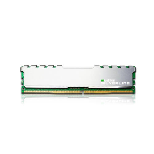 Mushkin Silverline - 8 GB - 1 x 8 GB - DDR4 - 2666 MHz - UDIMM (MSL4U266KF8G)