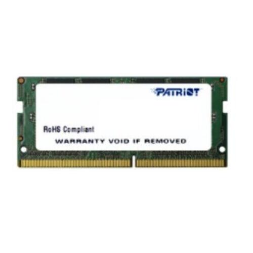 Patriot Memory Signature PSD44G240081S memóriamodul 4 GB 1 x 4 GB DDR4 2400 Mhz (PSD44G240081S)