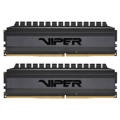 PATRIOT Memory Viper 4 Blackout - 32 GB - 2 x 16 GB - DDR4 - 3600 MHz - 288-pin DIMM (PVB432G360C8K)
