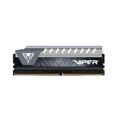 PATRIOT Memory Viper Elite Series 8GB DDR4 2666MHz - 8 GB - 1 x 8 GB - DDR4 - 2666 MHz - 288-pin DIMM - Black, Grey (PVE48G266C6GY)