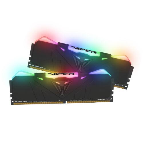 Patriot Memory Viper RGB PVR432G320C6K memóriamodul 32 GB 2 x 16 GB DDR4 3200 Mhz (PVR432G320C6K)