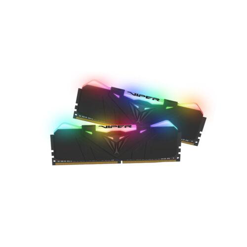 PATRIOT Memory Viper RGB PVR432G360C8K - 32 GB - 2 x 16 GB - DDR4 - 3600 MHz (PVR432G360C8K)