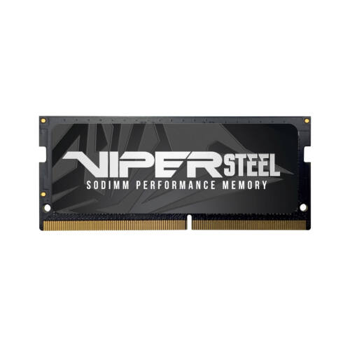PATRIOT Memory Viper Steel SODIMM - 32 GB - 1 x 32 GB - DDR4 - 3000 MHz - 260-pin SO-DIMM (PVS432G300C8S)