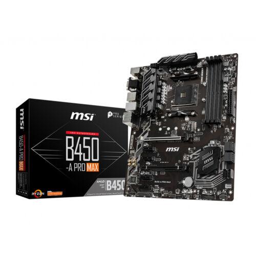 MSI B450-A PRO MAX (AM4) (D) (7B86-022R)