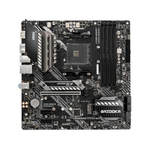 MSI MAG B550M Bazooka - AMD - Socket AM4 - AMD Ryzen - DDR4-SDRAM - DIMM - 1866, 2133, 2400, 2667, 2800, 2933, 3000, 3066, 3200, 3466, 3600, 3733, 3866, 4133, 4266, 4400 MHz (7C94-005R)