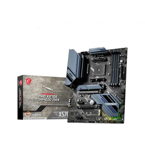 MSI MAG X570S TORPEDO MAX AMD X570 AM4 foglalat ATX (7D54-005R)