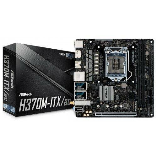 ASROCK H370M-ITX/ac (1151-v2) (D) (90-MXB6R0-A0UAYZ)